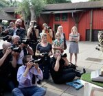 Ежегодная процедура измерения животных в Лондонском зоопарке (11 фото)