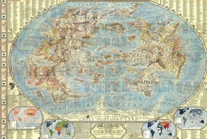 The map of Internet world
