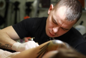 Ukranian tatoo-master and his stunning works