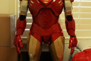 Hand made Iron Man costume