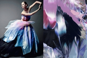 Fashion Photos Matched Perfectly with Artistic Images