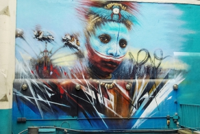 26 Stunning Street Art Murals In East London