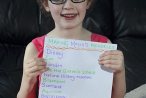 What This Little Girls Parents Are Doing For Her Is Beautiful