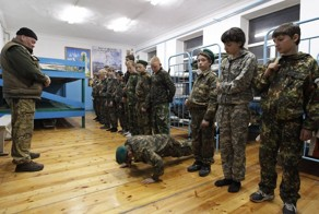 Russia's Youngest Cadets