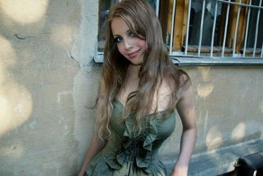 Sexy Russian Soldier Julia Harlamova