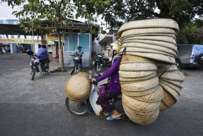 Vietnam's Motorbikes Carry Mind-Boggling Loads of Stuff