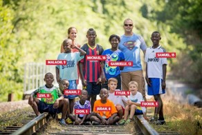 INCREDIBLE COUPLE ADOPT 8 SIBLINGS FROM SIERRA LEONE