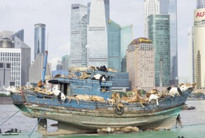 Why Is A Boat Full of Stuffed Animals Floating Around Shanghai?