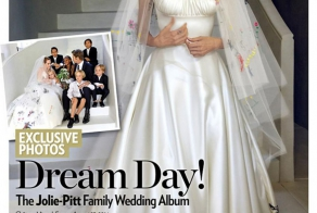 Brad Pitt and Angelina Jolie's Family Wedding Album Appears