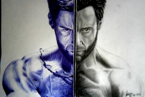 The things artists can do with a ballpoint pen