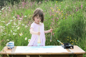 5-Year-Old Girl With Autism Expresses Herself Through Paintings