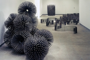 Artist Uses Only Nails to Create Sculptures