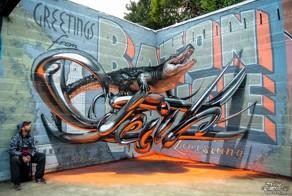Portuguese Street Artist Creates Stunning 3D Graffiti