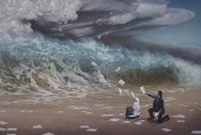 Beautifully Surreal Storm Paintings by Joel Rea