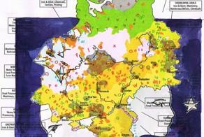 Maps with hidden stories