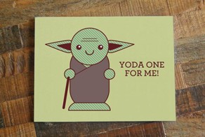 For the nerd in all of us, here's a perfect Valentine's day card