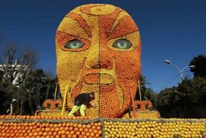 The 82th Lemon Festival in France