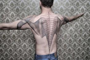 Geometric Line Tattoos By Chaim Machlev