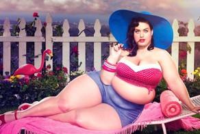 Spanish Artist Photoshops Celebrities To Look Fat
