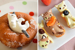 Adorable Cat-Shaped Sweets Inspired By My Cat Apelila