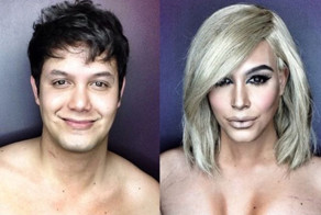 This Man Transforms Himself Into Female Celebrities Using Crazy Makeup