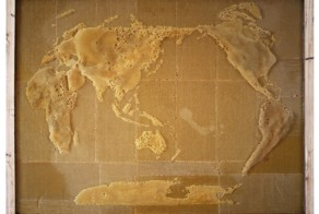 This Artist Collaborates With Bees To Build Intricate World Maps