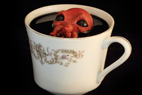 Monster Teacups Filled With Creatures From The Deep
