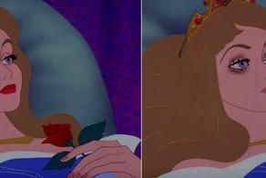 If Disney Princesses Wore Realistic Makeup