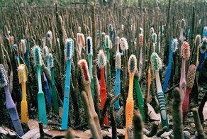 Artist Creates Art From Trash That Washes Up In Mexico