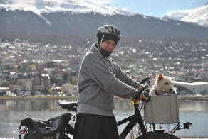 I'm Cycling 26,000 Km Around The World With My Blind Dog Tulku