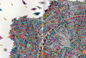 Artist Reveals Extremely Detailed Drawings In Her Notebook