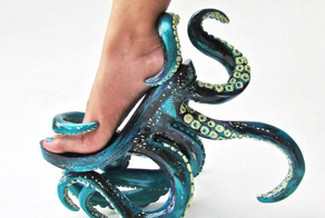 Tentacle High Heels And Other Crazy Shoes By Filipino Designer Kermit