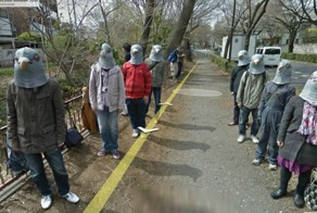 10 Of The Strangest Things Seen On Google Street View