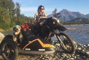 I Motorbiked 6,000 Miles To Alaska With My Dog And We're Still Going