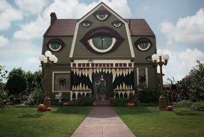 This Woman's Amazing Haunted House Is Like Something Straight Out Of Movie