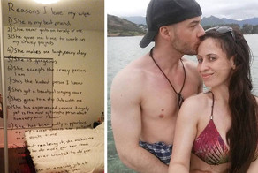 Loving Husband Lists All The Reasons He Loves His Wife Who Is Battling Depression