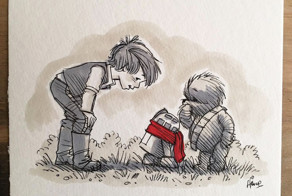 Star Wars Characters Reimagined As Winnie The Pooh And Friends