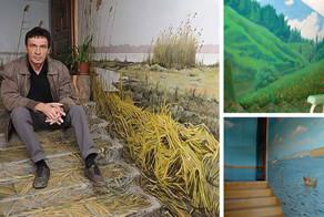 Russian Artist Turns Boring Soviet Apartment Building Walls Into Art