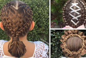 Mom Braids Unbelievably Intricate Hairstyles Every Morning Before School