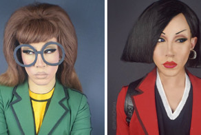 Drag Queen Turns Herself Into Our Favorite '90s Cartoon Characters