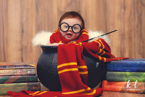 3-Month-Old Baby Has A 'Harry Potter' Photoshoot And It Couldn't Get Any Cuter