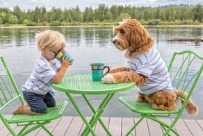 Heartwarming Friendship Between Boy And His Dog