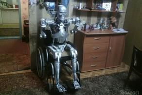 Пермский программист собрал на дому болтливого терминатора