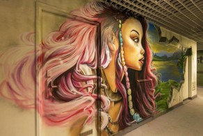 School Asks 100 Graffiti Artists To Paint It Before Renovation