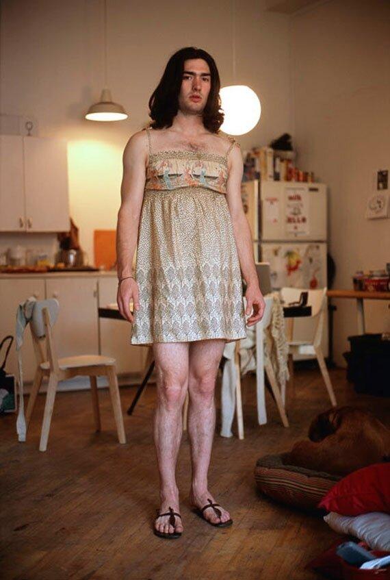 Фото парней в женском белье вконтакте