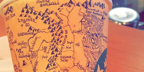 Guy Spends 5 Hours Drawing Detailed Map Of Middle-Earth