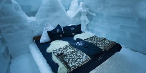 The Ice Hotel On Balea Lake, Romania