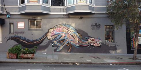 Street Art 'Surgeon'