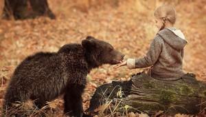 Children And Animals Cuddle In Cute Photoshoots By Elena Karneeva