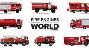 Пожарные машины разных стран мира